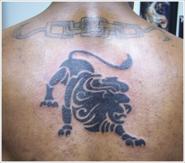 Tribal Loin Tattoo Design (10)