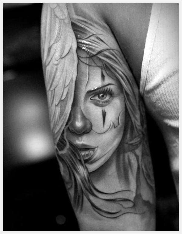 33 Cool And Amazing Clown Tattoo Designs