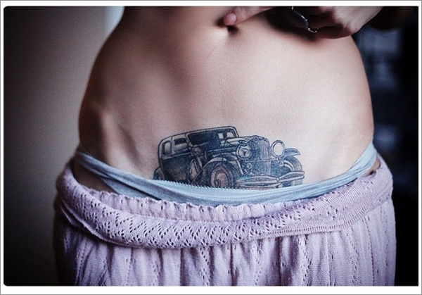 stomach Tattoo Designs (16)