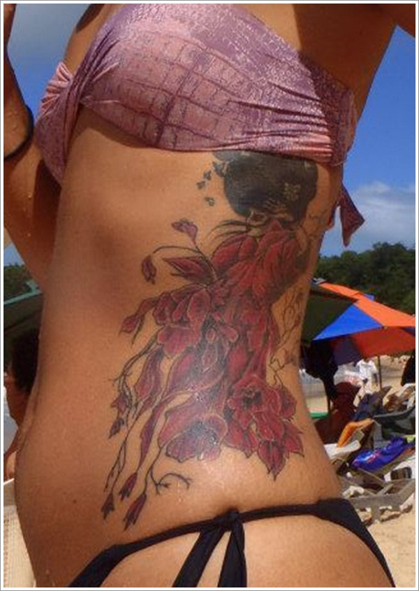 stomach Tattoo Designs (3)