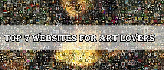 Top 7 Websites For Art Lovers.
