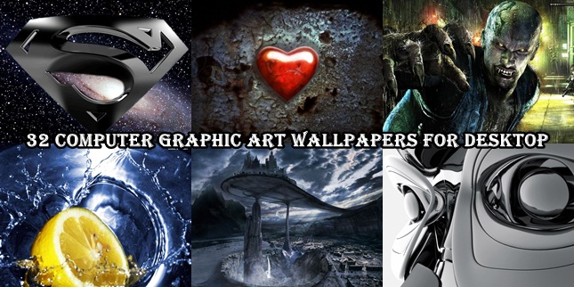 32 Computer Graphic Art Wallpapers For Desktop