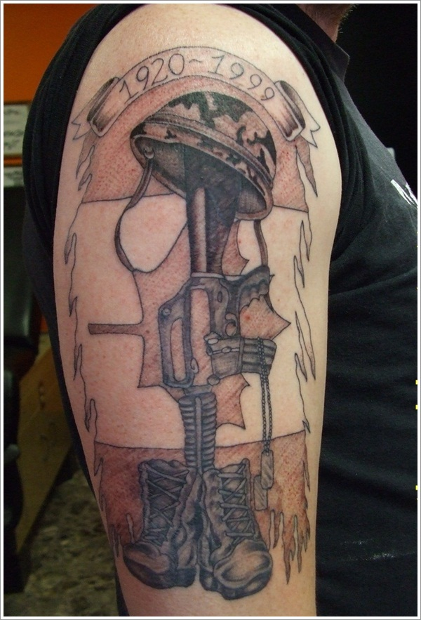 Military Tattoo Designs (1)