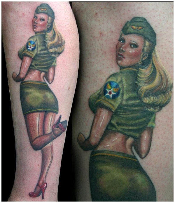 Military Tattoo Designs (18)