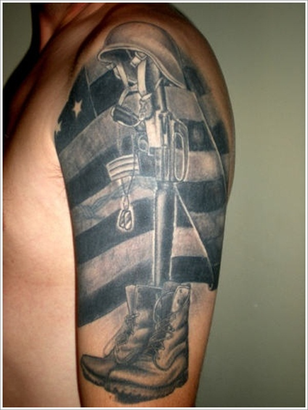 Military Tattoo Designs (24)