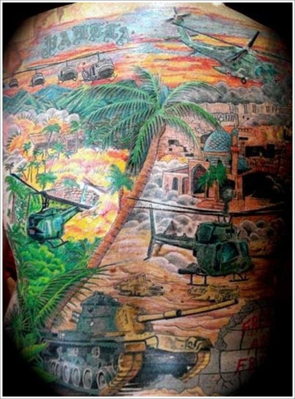 Military Tattoo Designs (28)