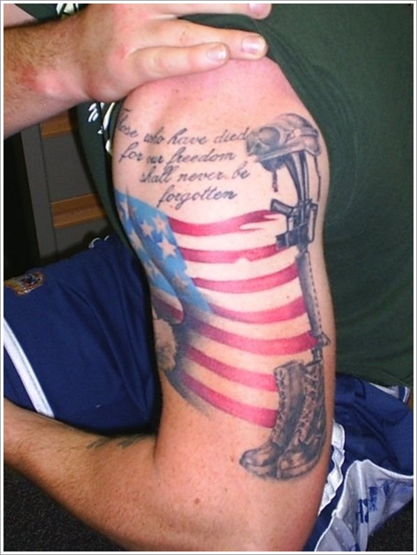 Military Tattoo Designs (31)
