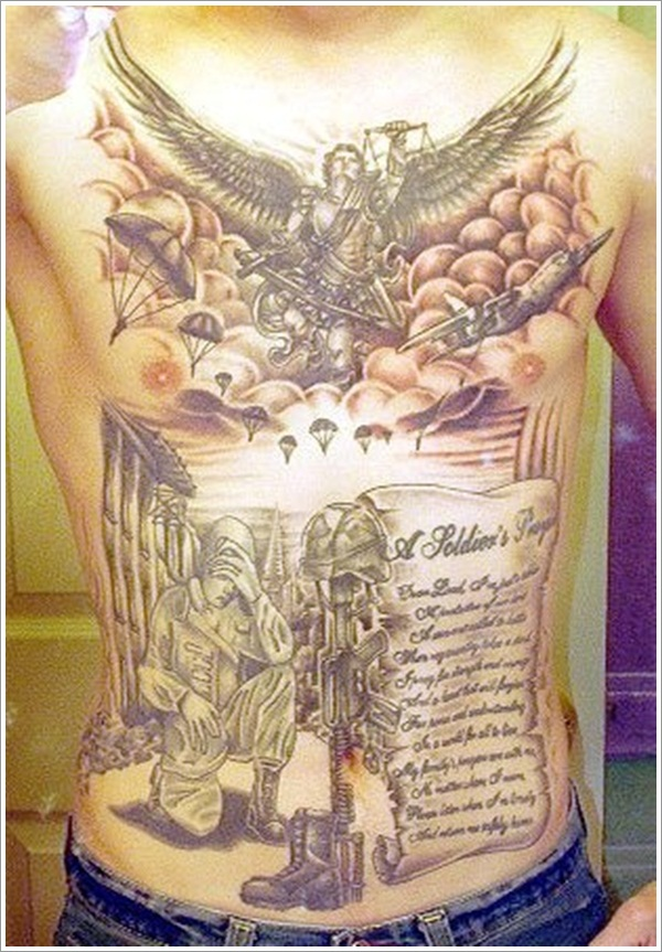 Military Tattoo Designs (4)
