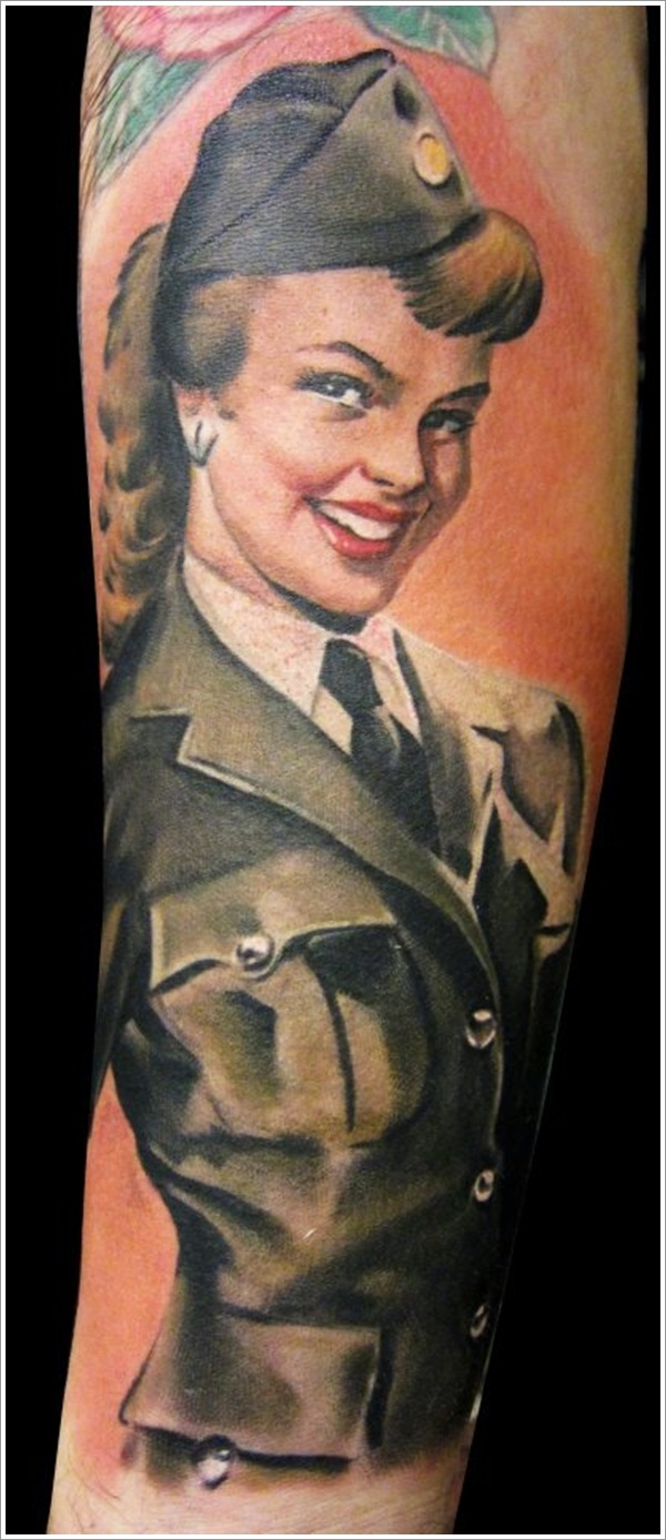 Military Tattoo Designs (5)