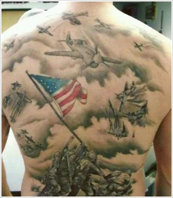 Military Tattoo Designs (7)