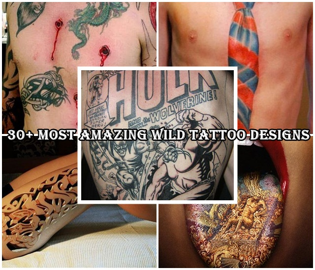 Wild Tattoo Designs