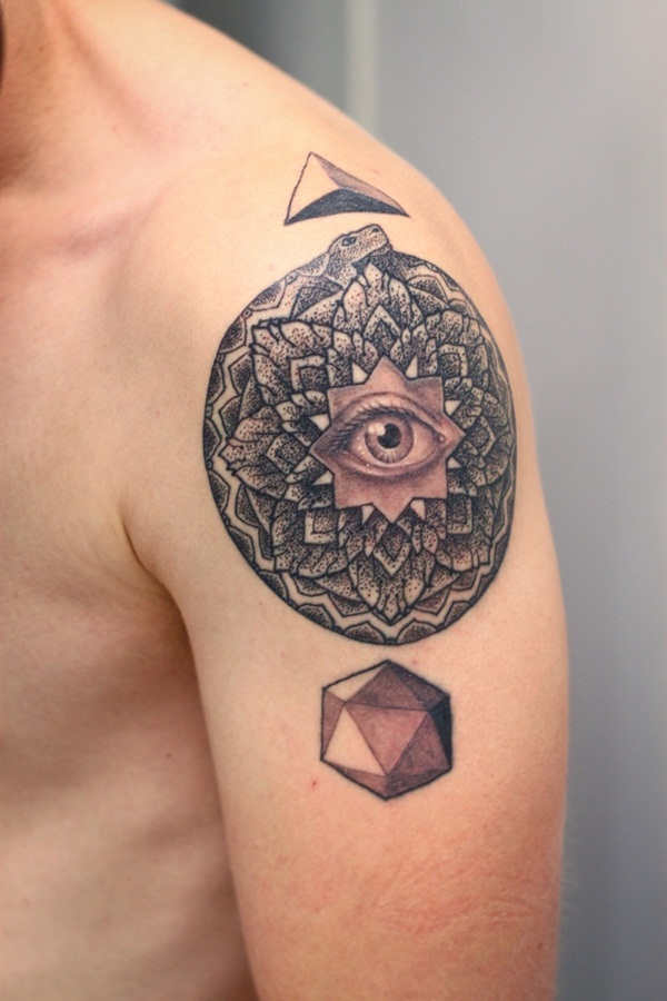 Beautiful Eye Tattoo Designs 22