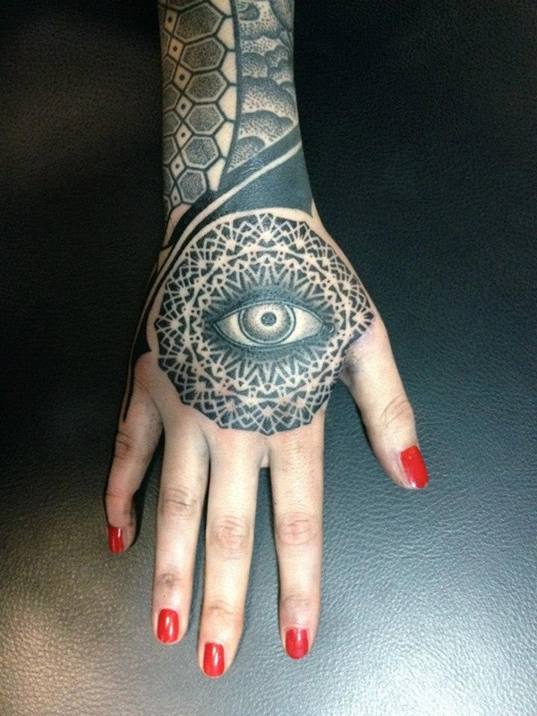 Beautiful Eye Tattoo Designs 28