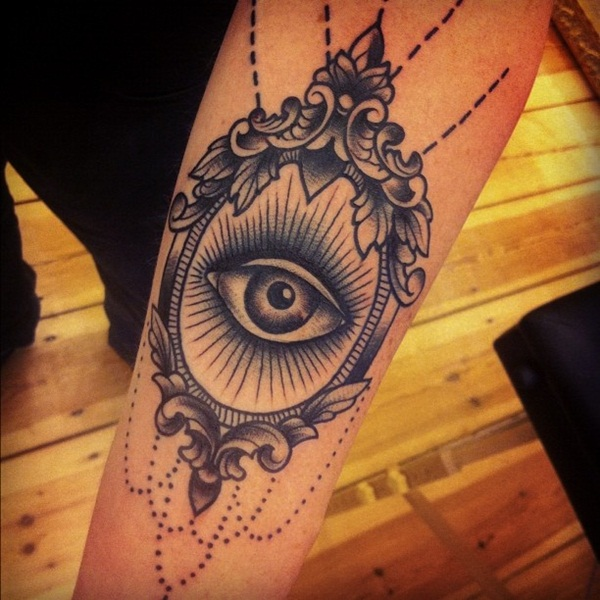 Beautiful Eye Tattoo Designs 30