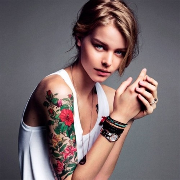 Beautiful Tattoos for girls (1)