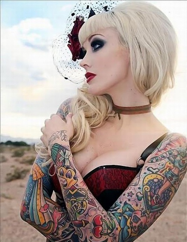 Beautiful Tattoos for girls (10)