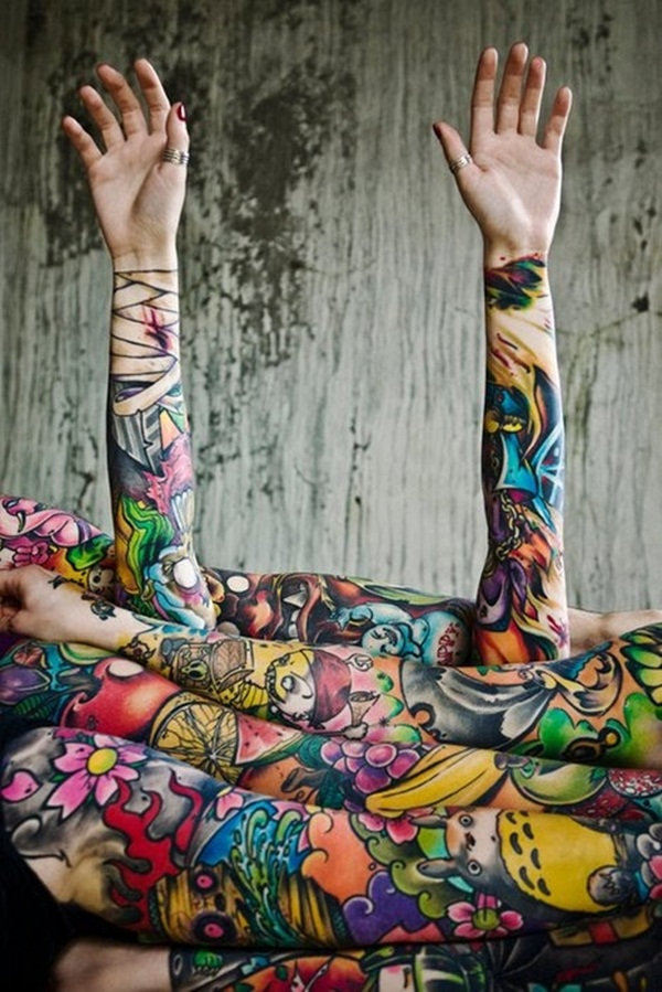 Beautiful Tattoos for girls (34)