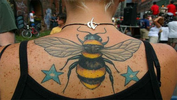 Bee tattoo designs (10)