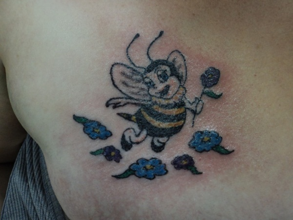 Bee tattoo designs (14)