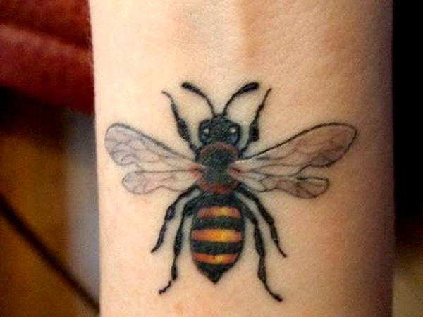 Bee tattoo designs (16)