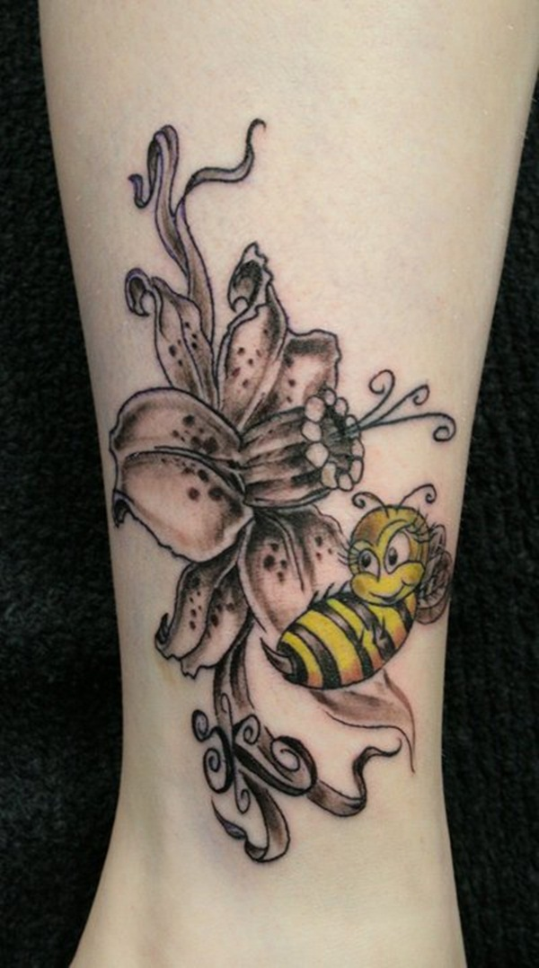 Bee tattoo designs (23)