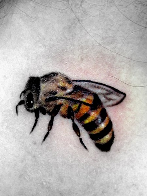 Bee tattoo designs (31)