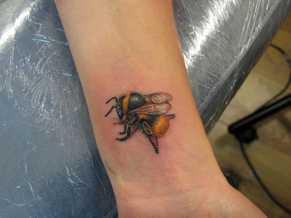 Bee tattoo designs (33)