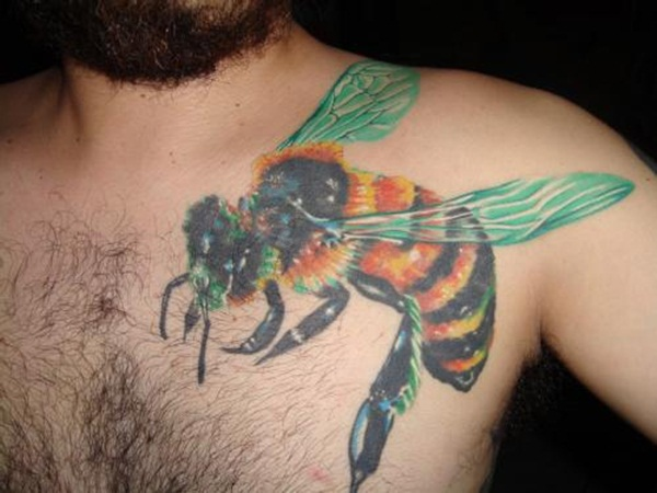 Bee tattoo designs (34)
