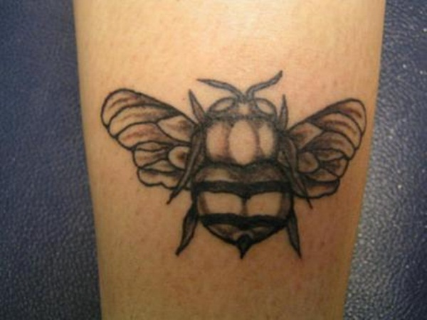Bee tattoo designs (7)