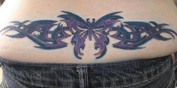 Sexy Lower Back Tattoo Designs For Girls (100)