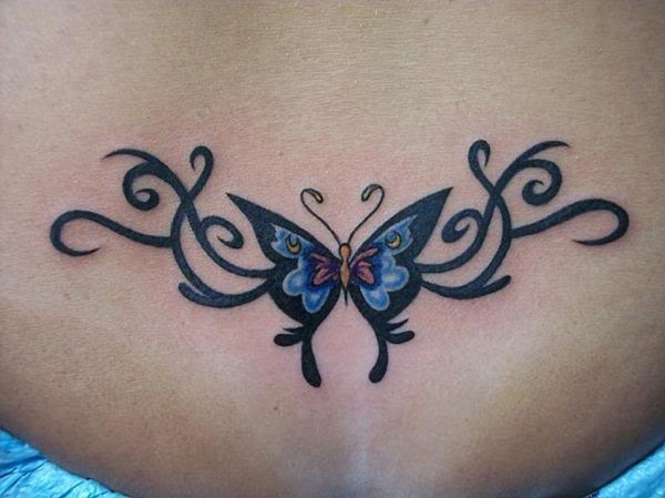 Sexy Lower Back Tattoo Designs For Girls (23)