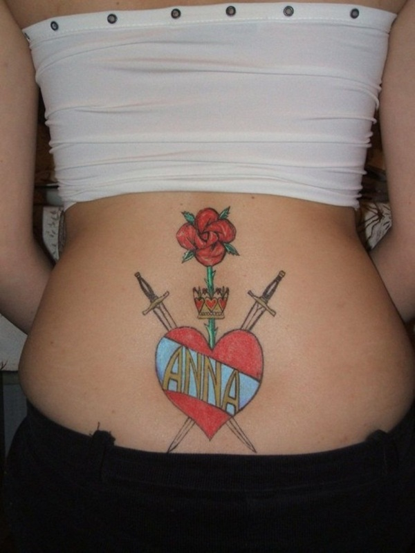 Sexy Lower Back Tattoo Designs For Girls (38)