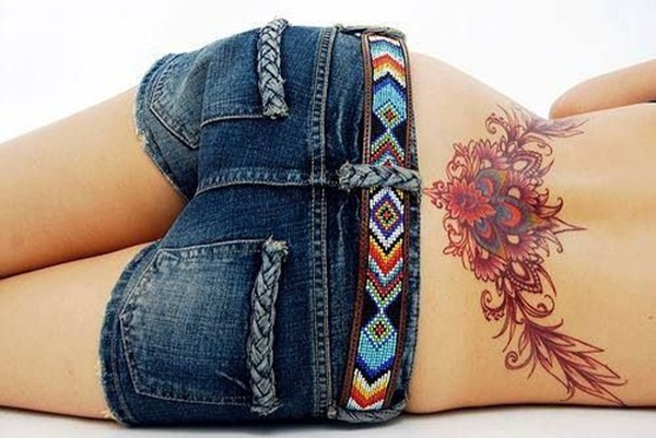 Sexy Lower Back Tattoo Designs For Girls (4)