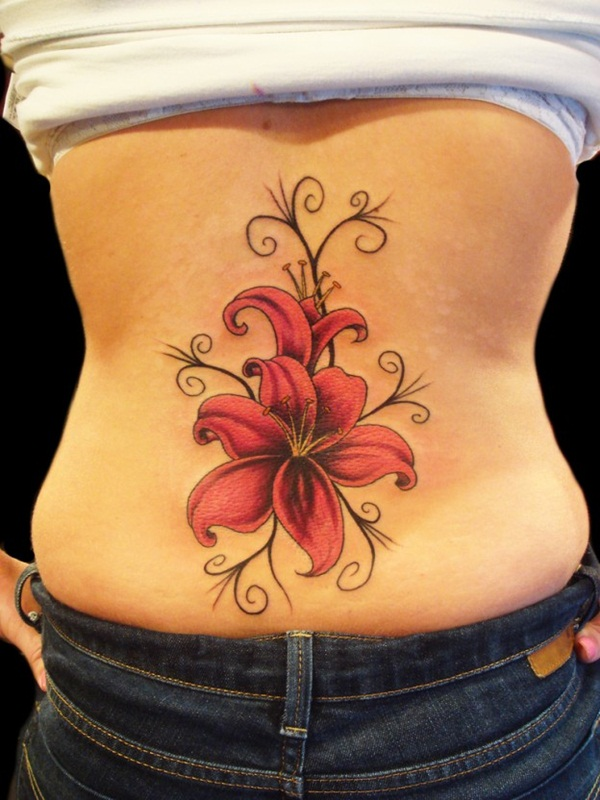 Sexy Lower Back Tattoo Designs For Girls (73)