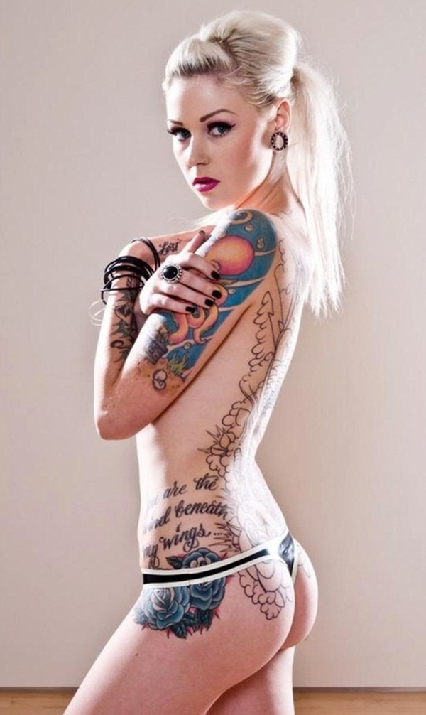 Sexy Lower Back Tattoo Designs For Girls (88)