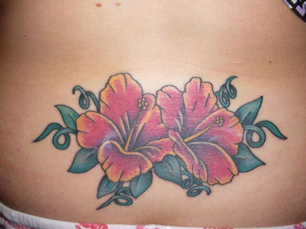 Sexy Lower Back Tattoo Designs For Girls (91)