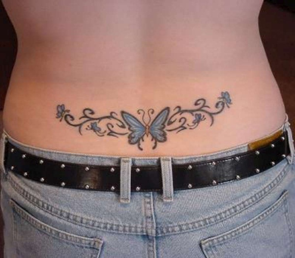 Sexy Lower Back Tattoo Designs For Girls (94)