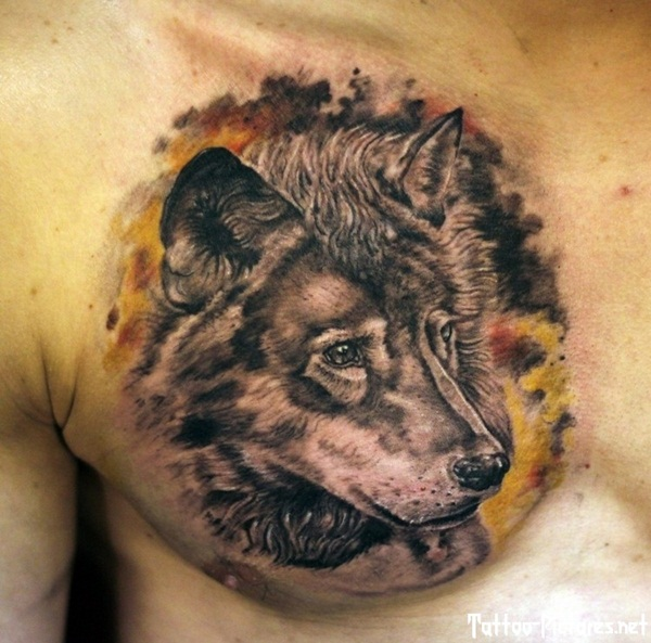 Wolf Tattoo Designs (1)