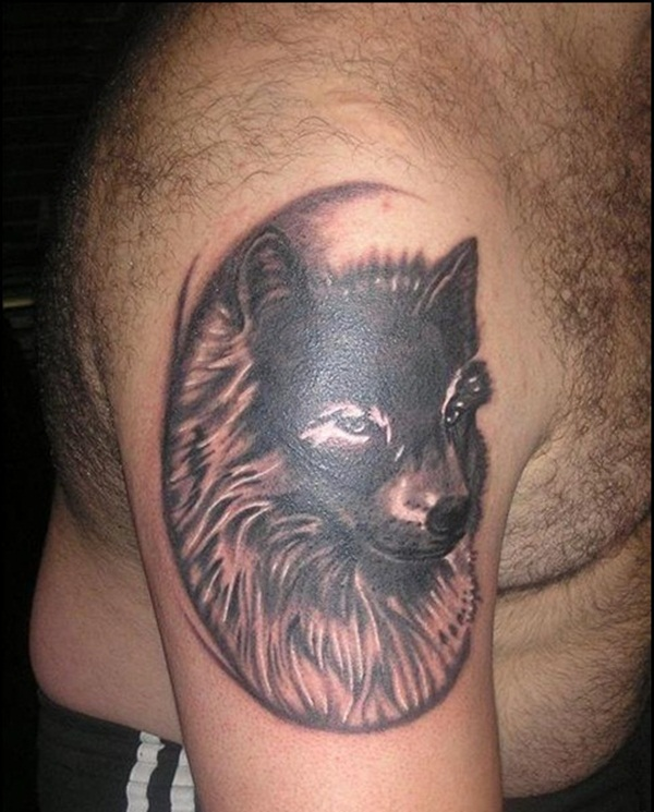 Wolf Tattoo Designs (12)
