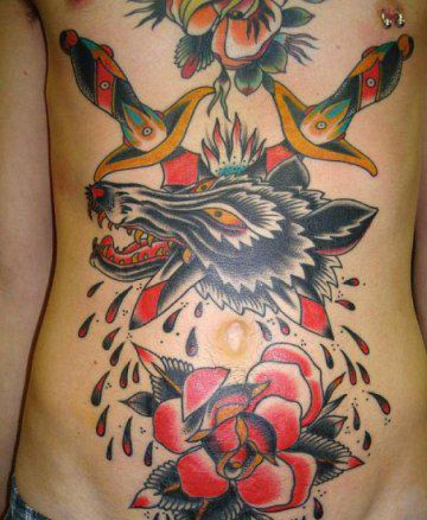 Wolf Tattoo Designs (15)
