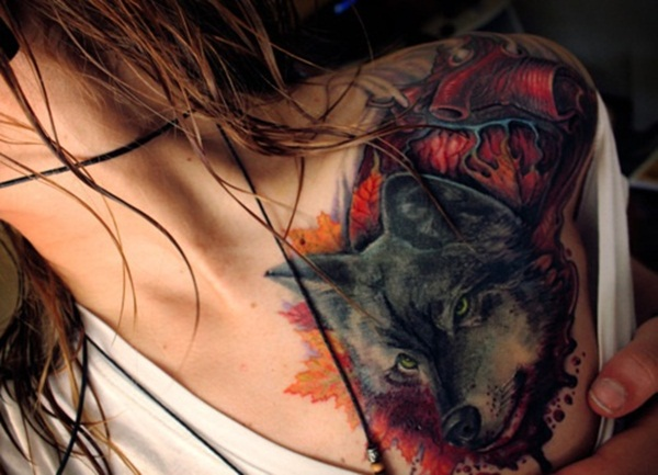 Wolf Tattoo Designs (6)