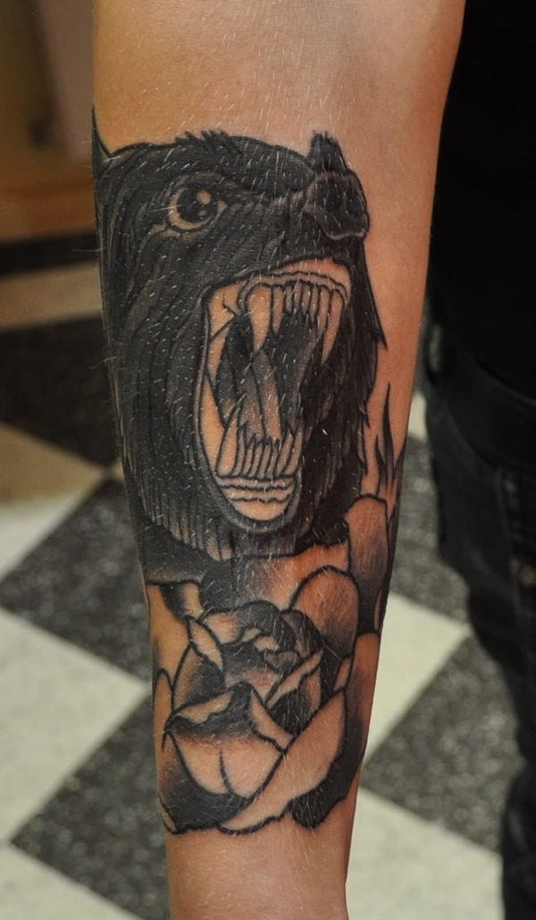 Wolf Tattoo Designs (8)