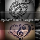 30 Amazing Spider Tattoo Designs For Inspiration