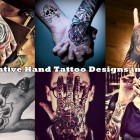 30 Creative Hand Tattoo Designs in Vogue