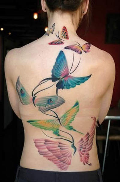 Amazing Butterfly Tattoo Designs