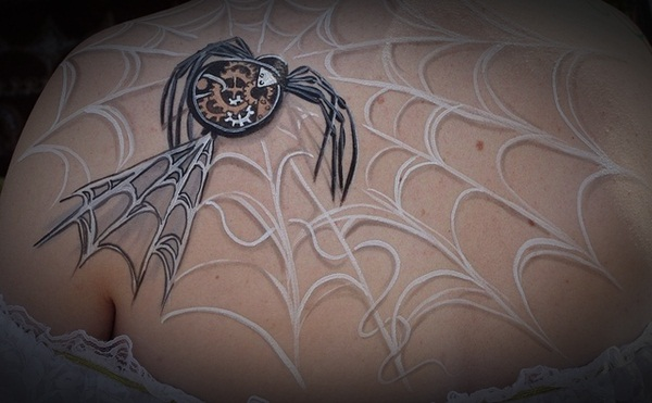 Amazing spider tattoos 18