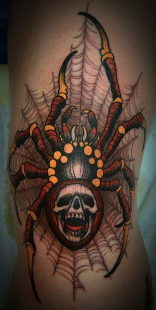 Amazing spider tattoos 29