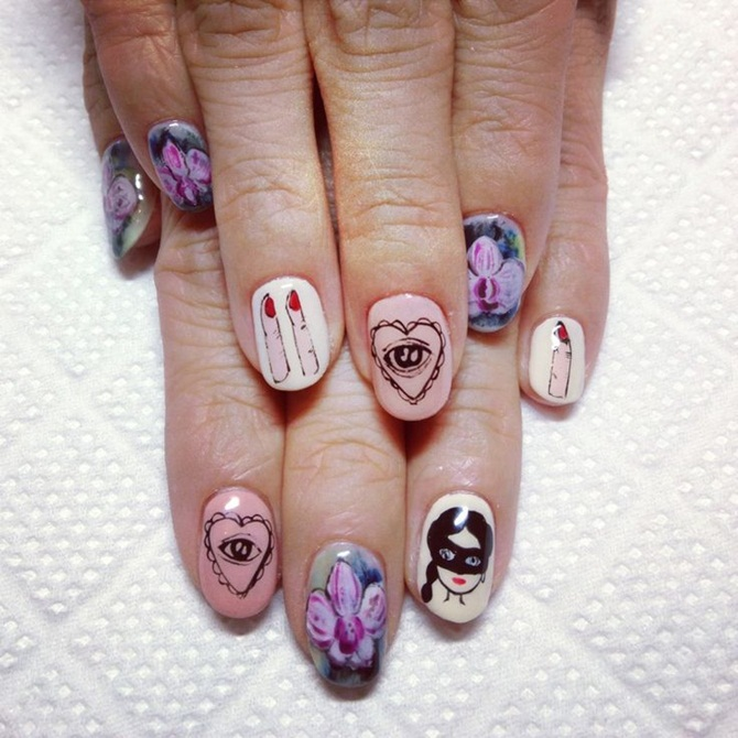 Best Nail Art Designs of 2013 in vogue (28)