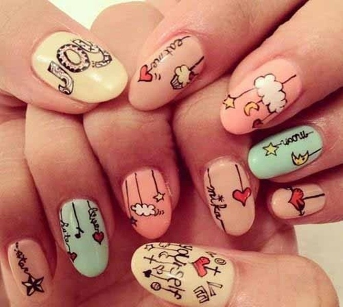 Best Nail Art Designs of 2013 in vogue (9)
