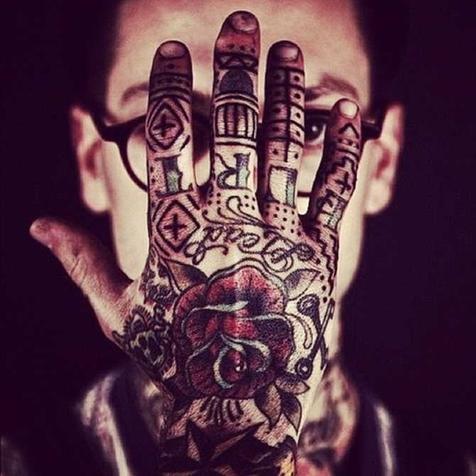 Creative Hand Tattoo Designs in Vogue (13)